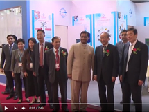 CHEMEXCIL's India Pavillion at the China Interdye Exhibition 2017
